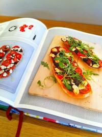 Ciabatta Pizzas お野菜たっぷりのチャバッタ・ピザ